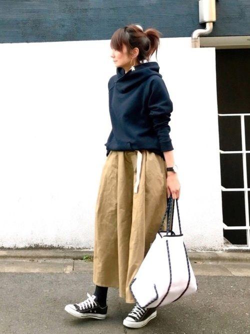 lumie Old Betty Sのパーカーを使ったコーディネート Wear ファッションスタイル 秋冬 ファッション ファッション