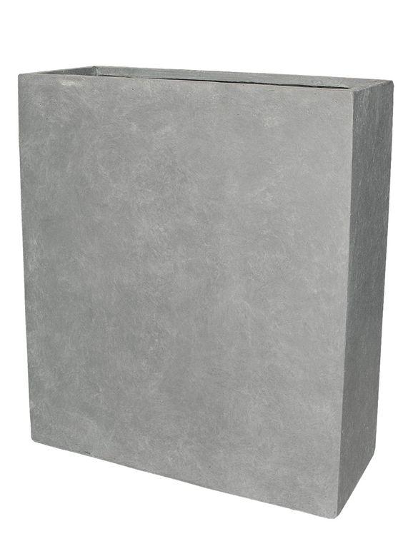 PFLANZWERK® Pflanzkübel Grau 92x80x30cm *Frostbeständig* *UV ...