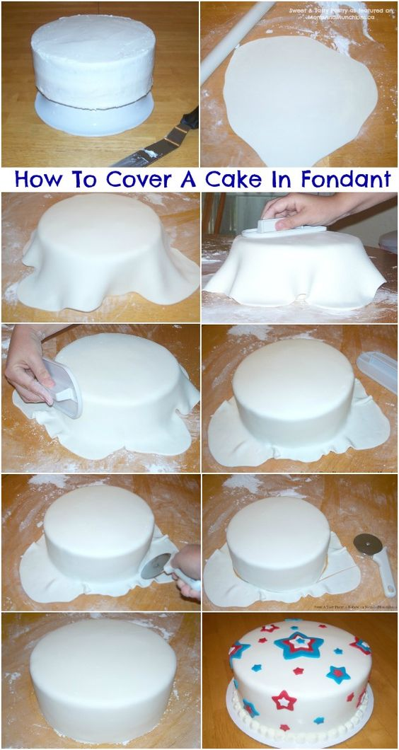 how much fondant to cover 2 9 in round cakes