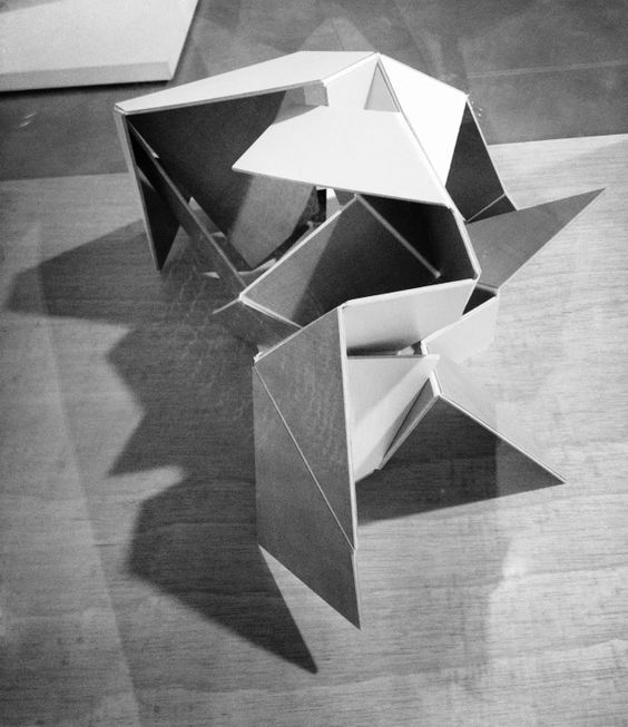 fiore rosso exploring geometric depth march 2013 2d 3d sketches pinterest origami. Black Bedroom Furniture Sets. Home Design Ideas