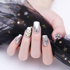 Lacey Nails Short Coffin Nails Nails Nail Trends
