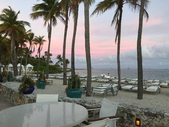 Fisher Island.  Miami, Florida.  Life is a beach.
