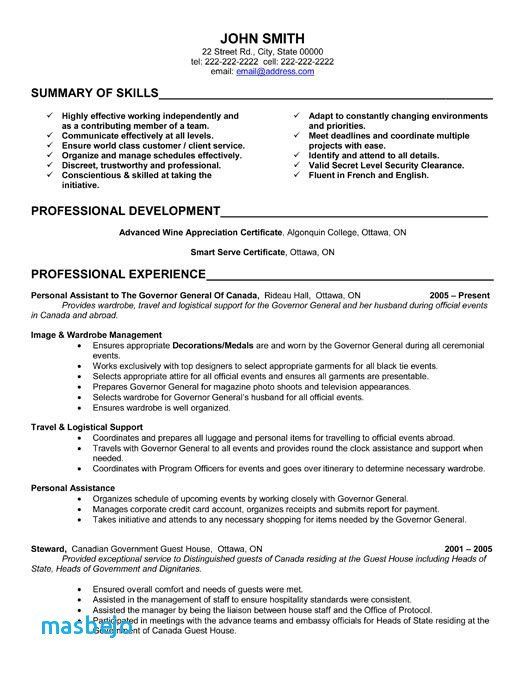 67 New Gallery Of Resume Examples 2017 Administrative
