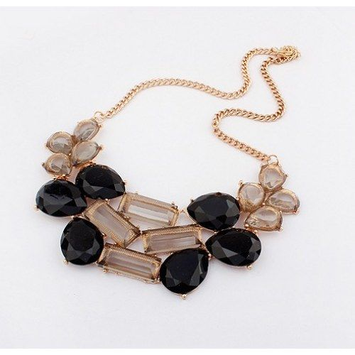 Charming Black Choker Necklace - Online Shopping for Necklaces by Shimarra