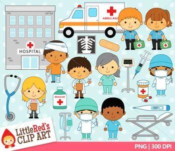 Doctors Hospital Clip Art