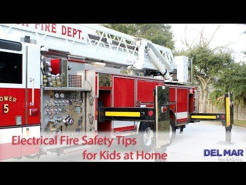 Kids at home fire safety and safety tips on pinterest for Fire prevention tips for home