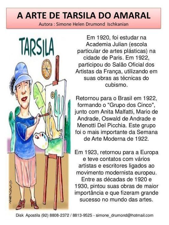 Tarsila Do Amaral Obras Biografia Quadros Obras Famosas