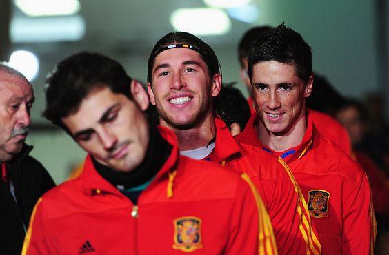 Johannesburg, South Africa June 21, #Casillas, #Ramos #Torres