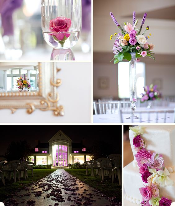 Purples galore at this Denver wedding