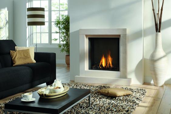 Gaskamin von Rüegg #Gaskamin #gas fireplace #fireplace #Kamin - ofen für wohnzimmer