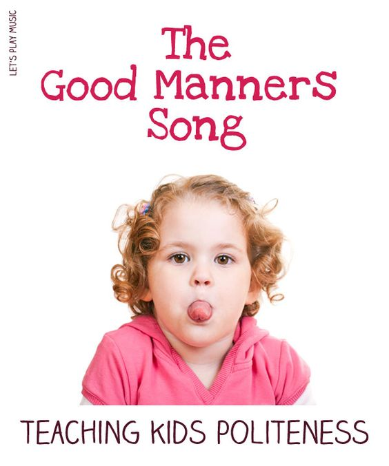 how to teach kids manners in a fun way