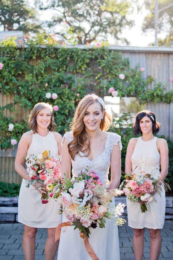 Relaxed glamour bronte and tim mink vineyard wedding and weddings junglespirit Images
