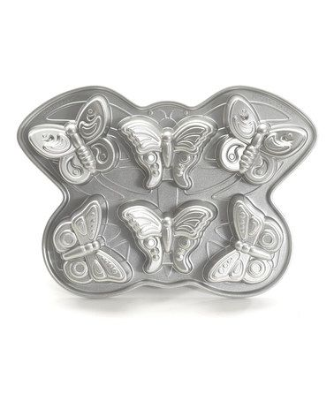 Take a look at this Nordic Ware Butterfly Cakelet Pan by Christmas Cupcakes Collection on #zulily today!