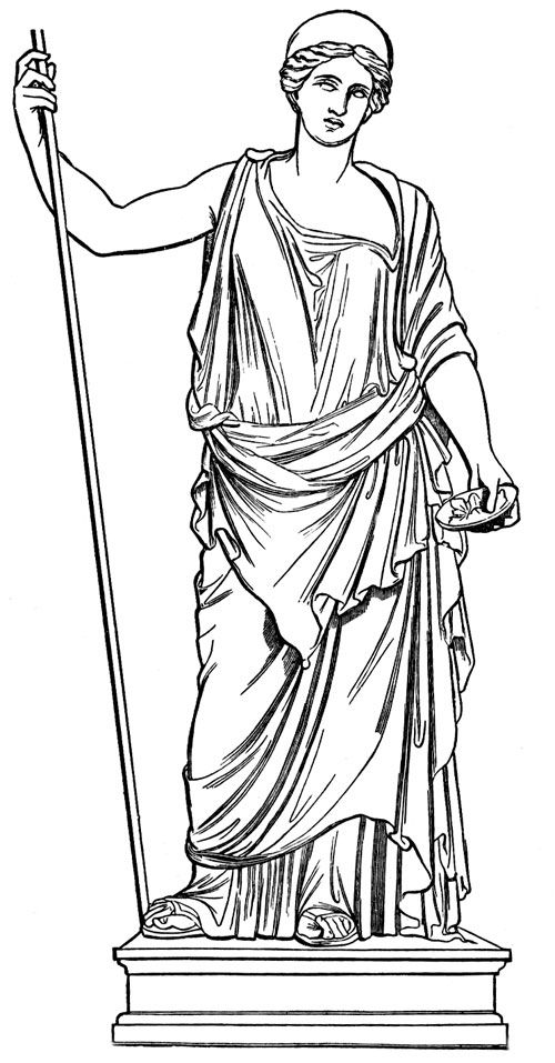 ancient rome gods coloring pages - photo#31