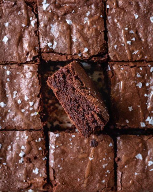 brown butter mochi brownies in 2020 butter mochi dark chocolate recipes brown butter pinterest