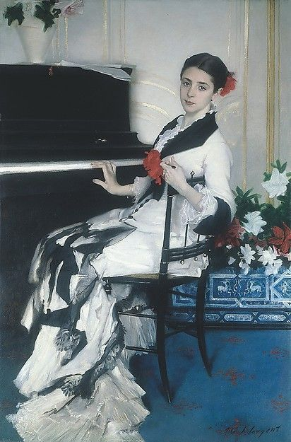 "John Singer Sargent (American, 1856–1925). Madame Ramón Subercaseaux, 1880. Private Collection | This work is in our ""Sargent: Portraits of Artists and Friends,"" on view through October 4, 2015."