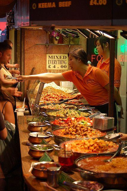 Comida china en Candem Town
