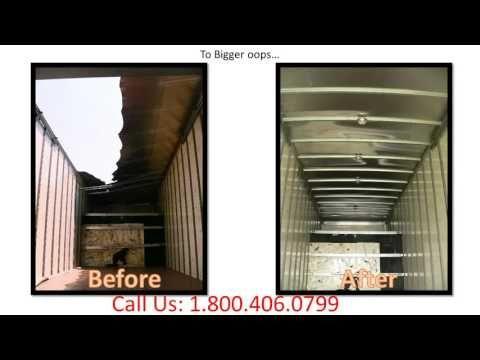 How To Fix My Box Truck Back Door Roof Panel Spring Top Corner Side Panel 1 800 406 0799 1 800 406 0799 Box Truck Body Roof Panels Back Doors Panel Siding
