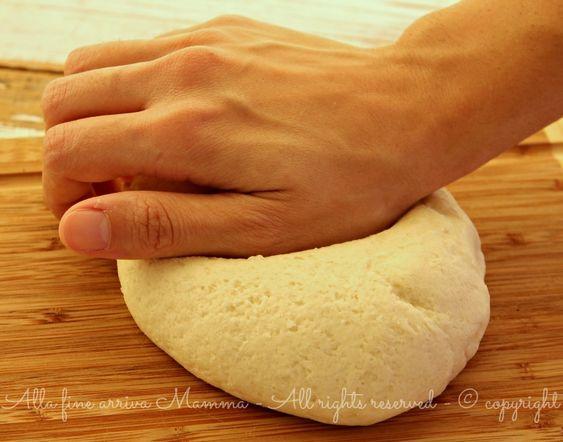 Pasta sale modellabile ricetta Alla fine arriva Mamma