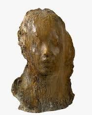 Método utilizado: adición de barro. De Medardo Rosso (1858-1928), escultor y pintor francés de origen italiano. Elegida por su sutileza de rasgos.