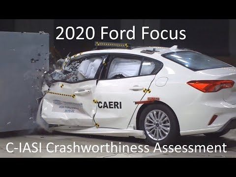 2020 2021 Ford Focus C Iasi Crashworthiness Tests Youtube In