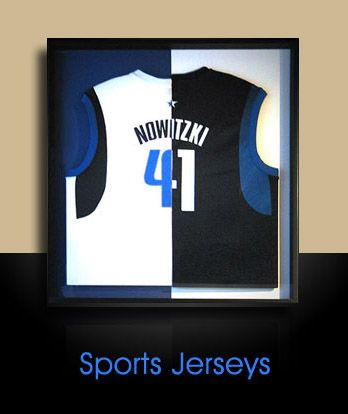 dallas mavricks dirk nowitzki home and away basketball jersey frame