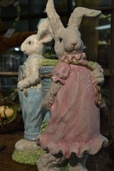 So much Easter decor!