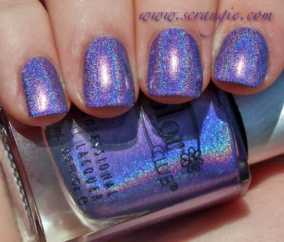 Scrangie: Color Club Halo Hues Holographic Nail Polish Collection Spring 2013 Swatches and Review Eternal beauty
