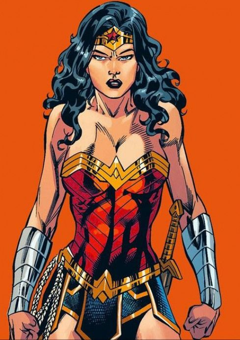 Lmh Artist Unknown Comicmovies Comic Movies Wonder Woman Wonder Woman Comic Wonder Woman Art Comics Girls