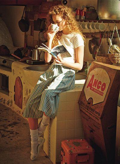 jour d´été ☼ summer day with book / at womanreading.com