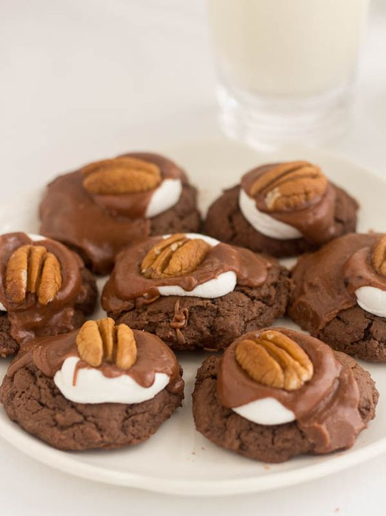recipe for Mississippi Mud Cookies is exactly like Mississippi Mud ...