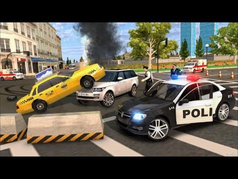 Police Car Chase Cop Simulator Car Driving 3d Android Gameplay Youtube Police Cars Police Car Chase Taxi Games