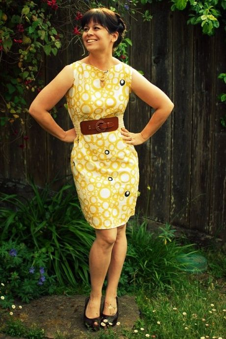 Remember the DIY Pillowcase Dress in Sassy Magazine? This is it! An adult, like myself, can also make a dress out of a pillowcase using the time-tested instructions.... God bless you, Jane Pratt!