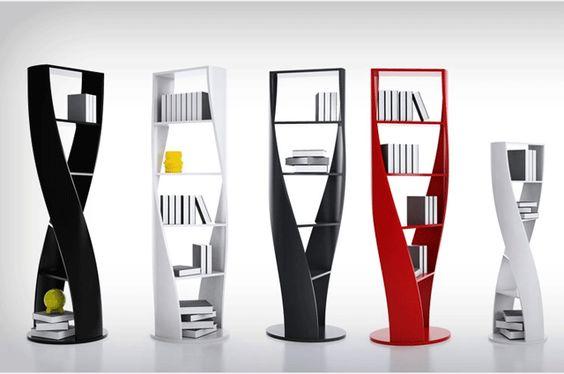 Conheça estantes diferentes e ousadas para animar o ambiente - Arquitetura e Decoração - LUGARCERTO