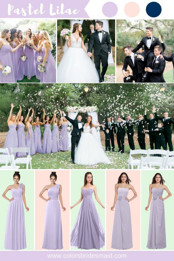 Top 5 Early Summer Navy Blue Wedding Ideas Anvy And Light Purple