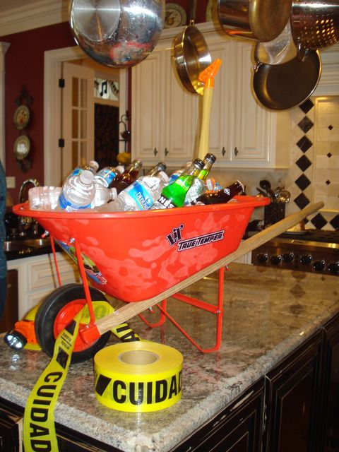 Construction Party Baby Shower Ideas And Wheelbarrow