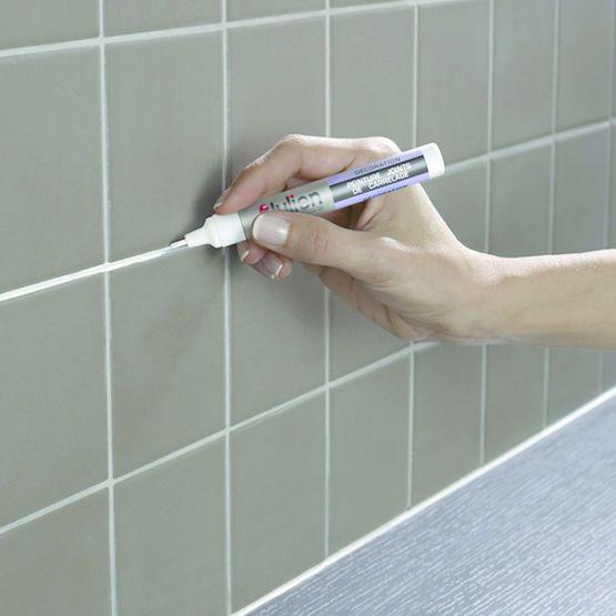 Stylo Pour Coloration De Joints De Carrelage Peinture Joints De Carrelage Joint De Carrelage Joint De Douche Carrelage