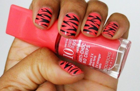 Amazing Coral Nail Designs 2015