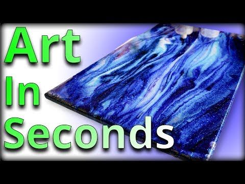 Epoxy Art In Seconds Stone Coat Countertops Youtube Epoxy