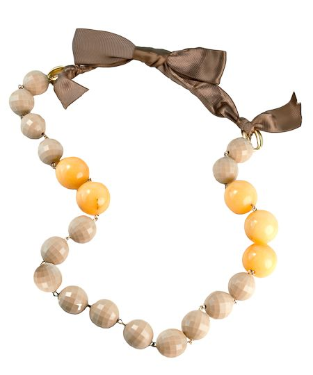 David Aubrey Ursula Ribbons and Beads Necklace | Jewelry and Accessory