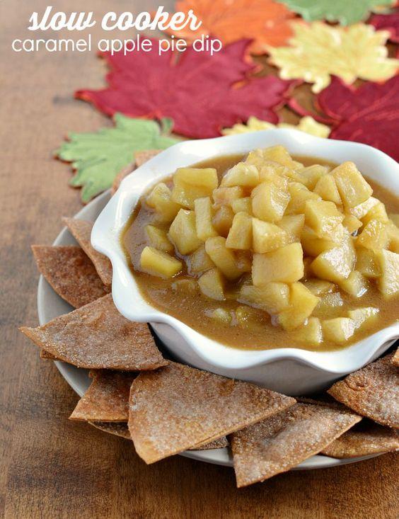 chips caramel apple pies dips apples dip recipes cinnamon cinnamon ...