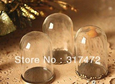 38mm lang 20 stuks 25mm knelpunt glazen koepel deksel en antieke bronzen basis diy bos meisje hanger