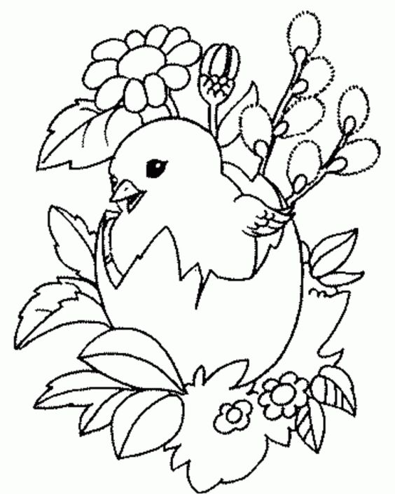 Kolorowanka Easter Drawings