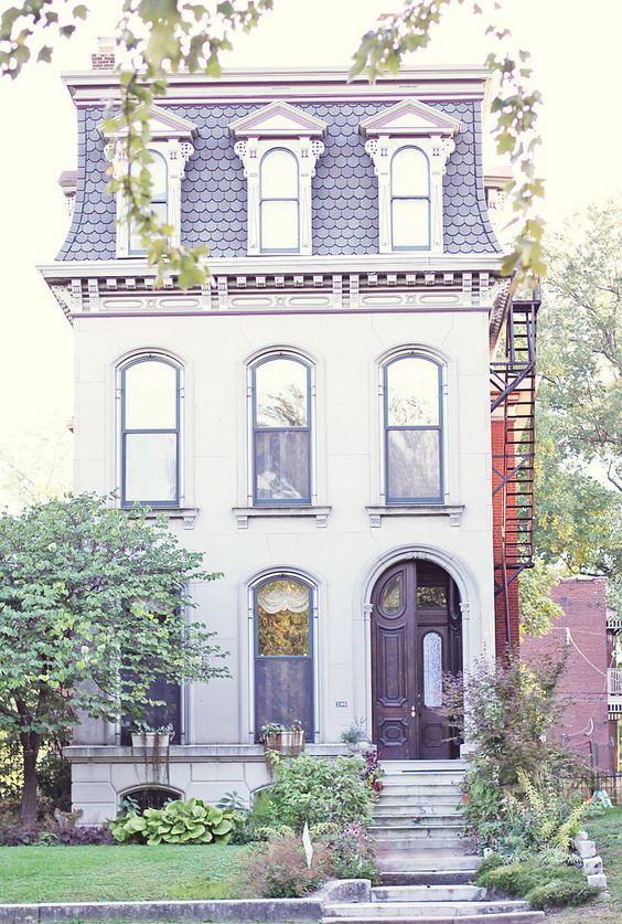 victorian house by l'amour et le naturel                                                                                                                                                     More