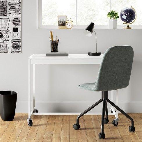 Metal Rolling Desk Room Essentials Target Rolling Desk Chair Rolling Desk Desk Chair
