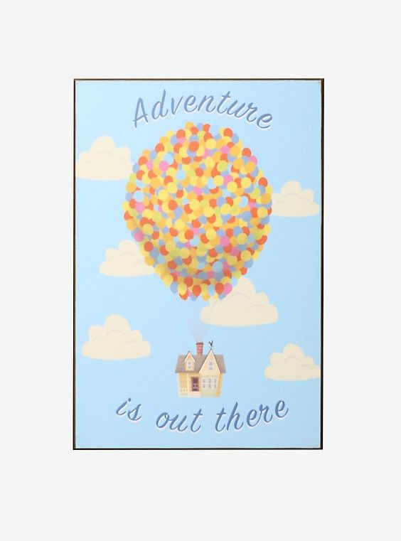 Disney Pixar Up Adventure Is Out There Wood Wall Art Disney Wall Art Disney Art Diy Wood Wall Art