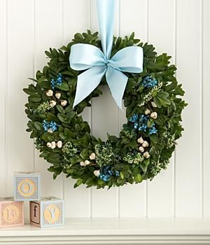 Send your invitation by Wreath for a memorable and thoughtful invitation.  This wreath from ProFlowers is named for New Baby Boy, but I like it for Holiday invite because the shiny blue color is festive and fun; and because boxwood is long-lasting with less scent than pine for guests with allergies.  As a bonus, the boxwood is priced less than some pine wreaths too.