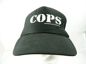 VTG-1996-Cops-Barboua-Langley-Productions-TV-Show-Snapback-Mesh-Cap-Hat-Unworn