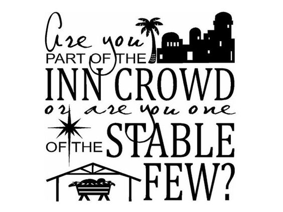 Vinyl sticker. Are you part of the Inn Crowd or one of the ...