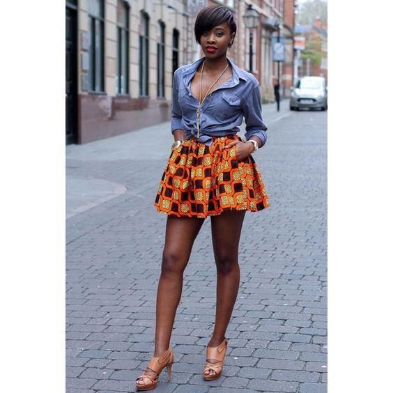 African Dress African Skirt African Clothing for Women African ...